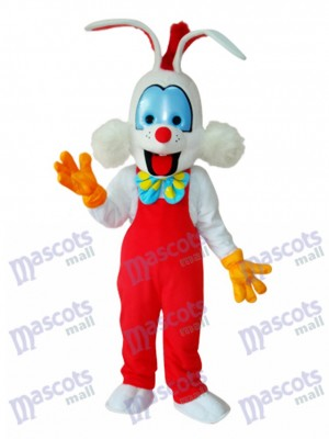Easter Roger Rabbit Mascot Adult Costume Animal