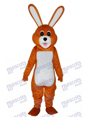 Easter Lovely Brown Rabbit Adult Mascot Costume Animal