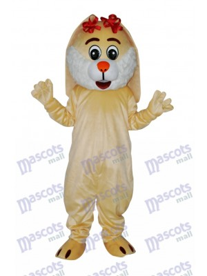 Easter Lovely Rabbit Adult Mascot Costume Animal