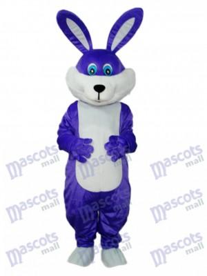 Easter Purple Rabbit Mascot Adult Costume Animal