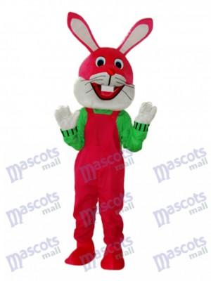 Easter Etiquette Rabbit Mascot Adult Costume Animal