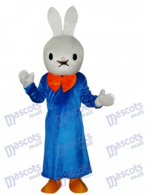 Easter Smart Rabbit Mascot Adult Costume Animal