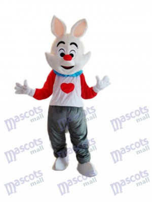 Easter Dada Rabbit Mascot Adult Costume Animal