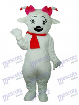 Beauty Sheep Mascot Adult Costume Animal