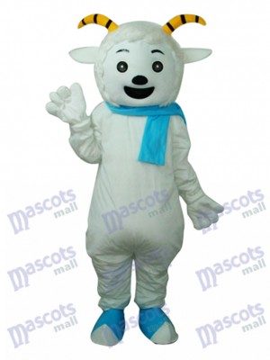 Pleasant Goat Mascot Adult Costume Animal