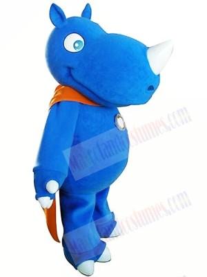 High Quality Blue Rhino Mascot Costumes