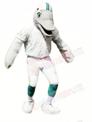 Sporty Dolphin Mascot Costume