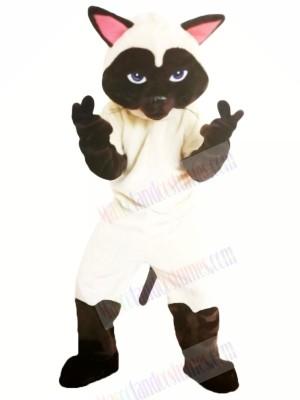 Funny Sally Siamese Cat Mascot Costumes Cartoon
