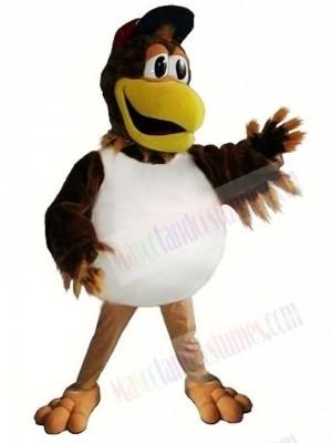Sporty Baseball Chicken Mascot Costume