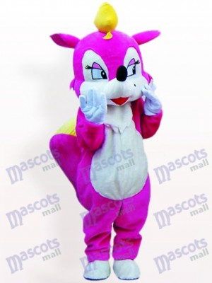 Rose Squirrel Animal Adult Mascot Costume