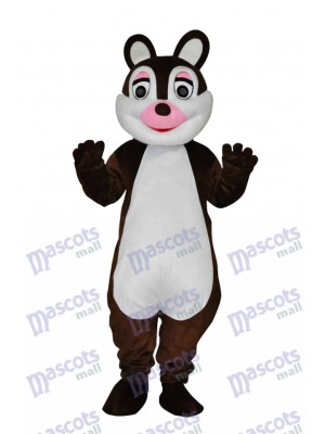 Cute Little Squirrel Adult Mascot Costume Animal