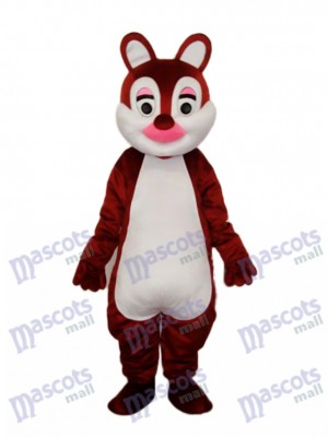 Pink Nose Squirrels Mascot Adult Costume Animal