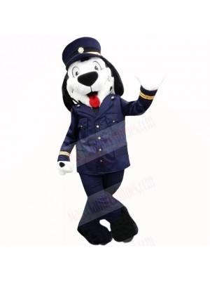 Police Uniform Dog Mascot Costumes Cartoon