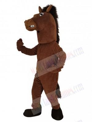 Stallion Horse mascot costume