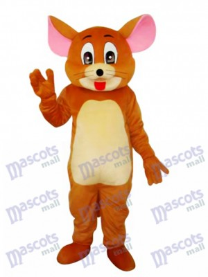 Jerry Rat Mascot Adult Costume Cartoon Anime