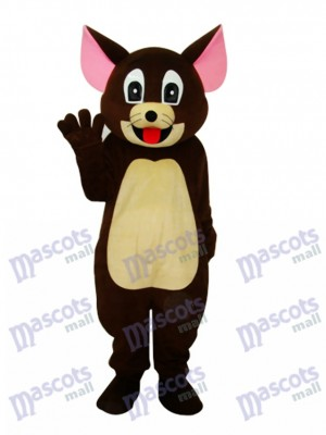 Brown Jerry Rat Mascot Adult Costume Cartoon Anime