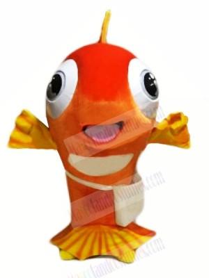 Happy Fish Mascot Costumes Cartoon