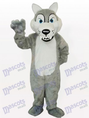 Timber Wolf Adult Mascot Funny Costume