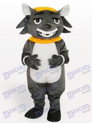 Big Big Wolf Animal Adult Mascot Costume