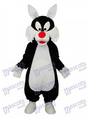 White Mouth Wolf Mascot Adult Costume Animal