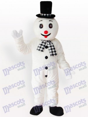 Snowman Christmas Xmas Adult Mascot Costume
