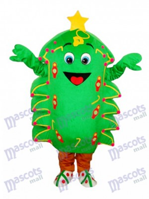 Christmas Tree Mascot Adult Costume Christmas Xmas