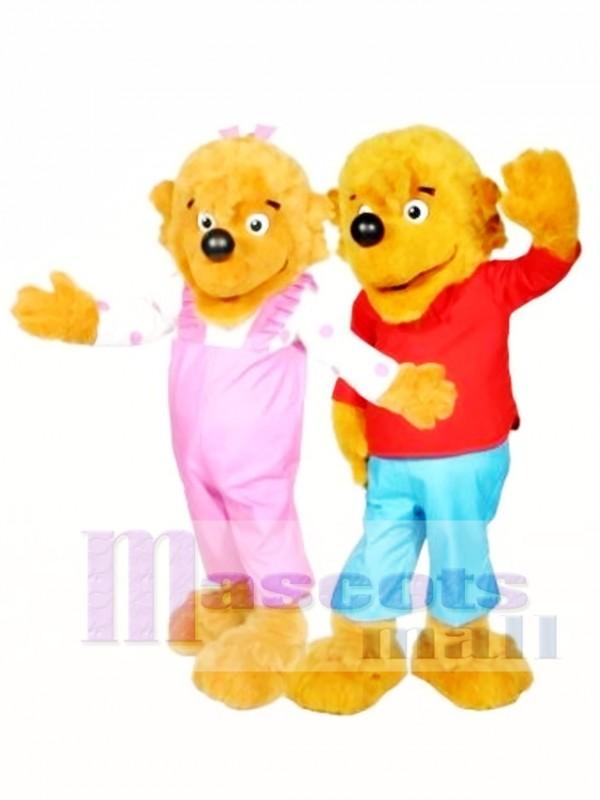 Berenstain Bear Brother Bear and Sister Bear Mascot Costume