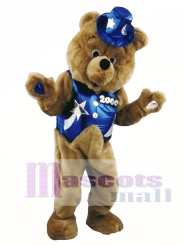 Dancing Bear Mascot Costume