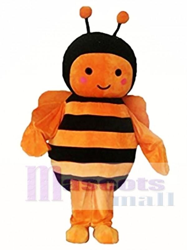 Orange Black Bee Christmas Halloween Mascot Costume