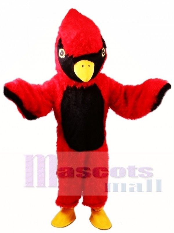 Red Cardinal Mascot Costume