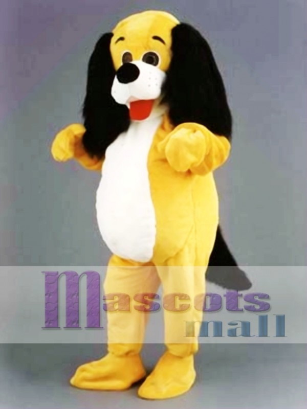 Yellow Dog Mascot Costume