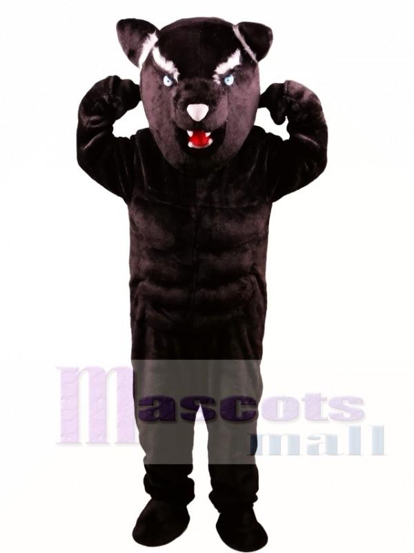 Black Panther Power Cat Mascot Costume