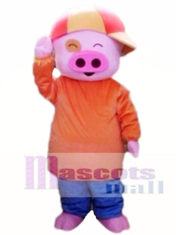 Mcdull Pig Mascot Cartoon Costume