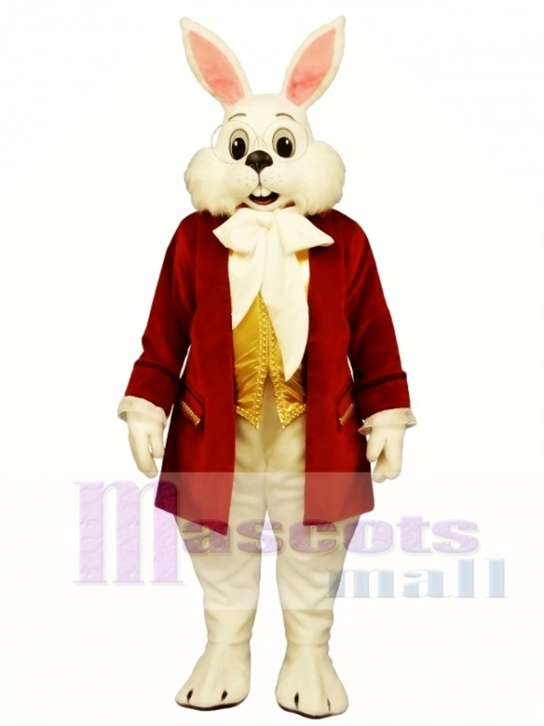 Wendell Red Rabbit Easter Bunny Mascot Costume