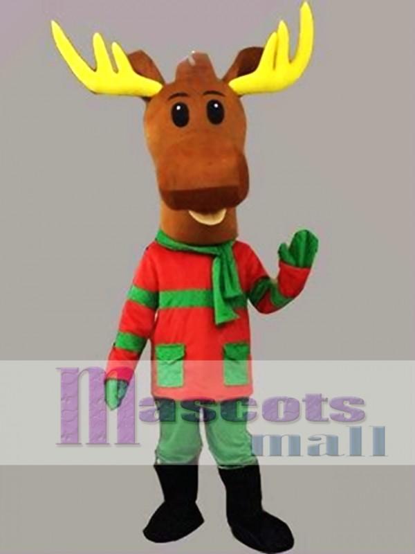 Lovely Christmas Deer Mascot Costume