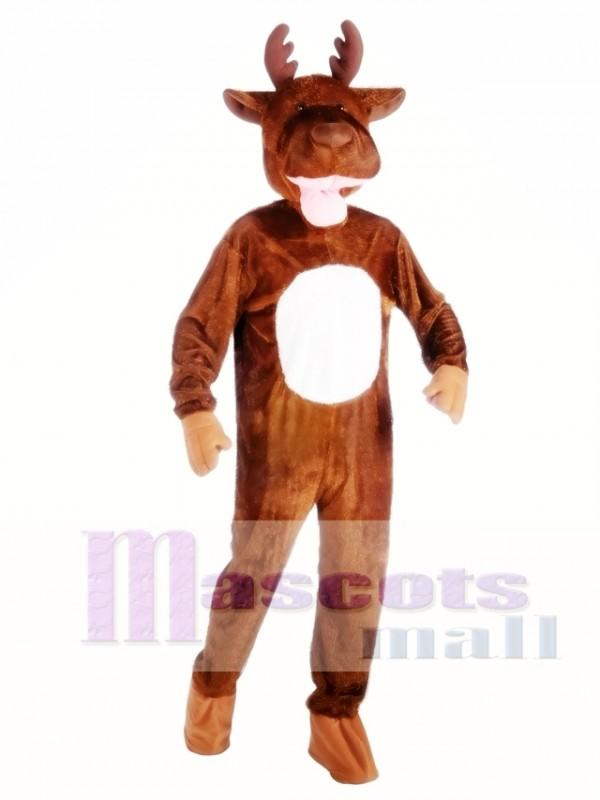 High Quality Moose Mascot Costume