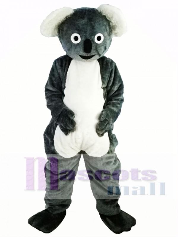 Cute Gray Koala Mascot Costume