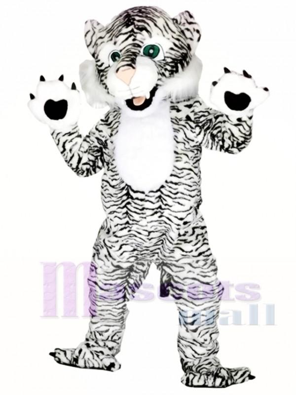 Black and White Tiger Mascot Costumes