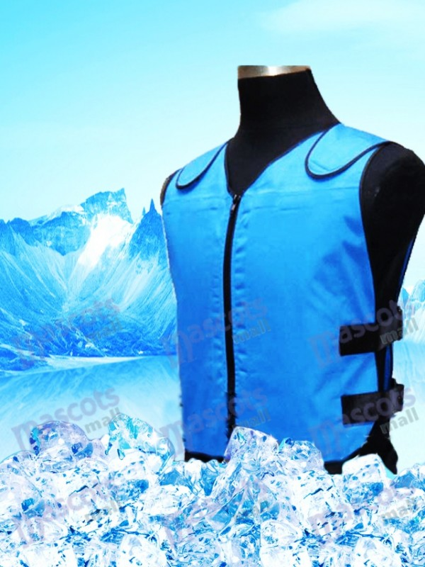 Cooling Vest Cooling System With 8 Ice Bag For Mascot Costume