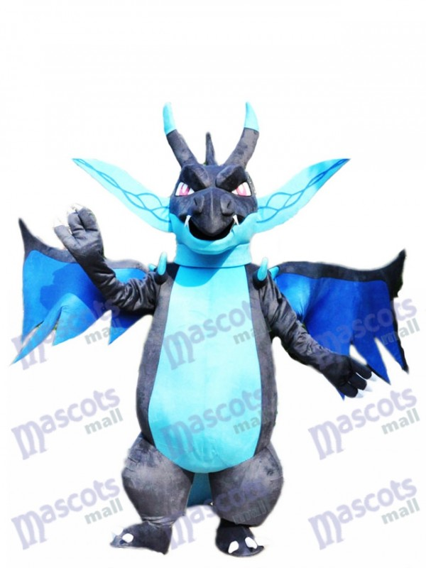 Mega Charizard X Pocket Monster Pokemon Pokémon Go Mascot Costume