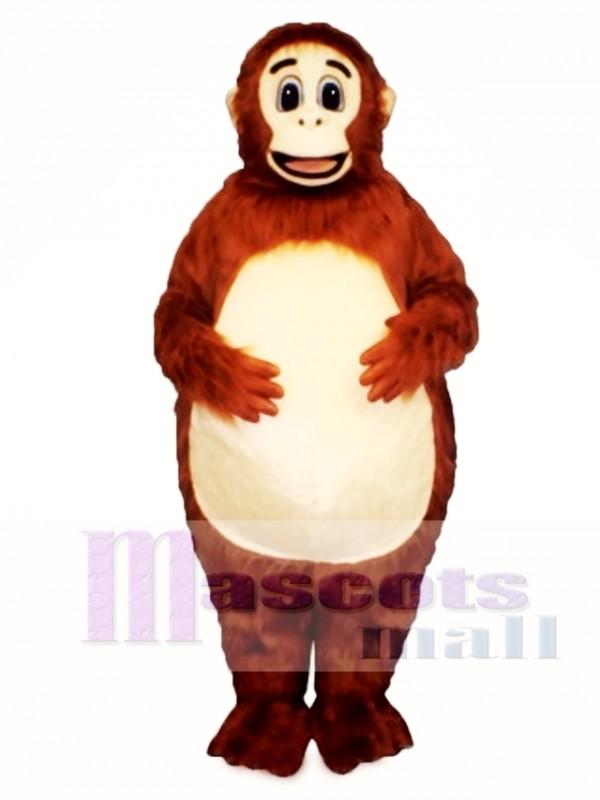 Fatso Orangutan Mascot Costume