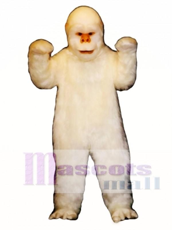 Abscheuliches Schneemann Maskottchen Kostüm