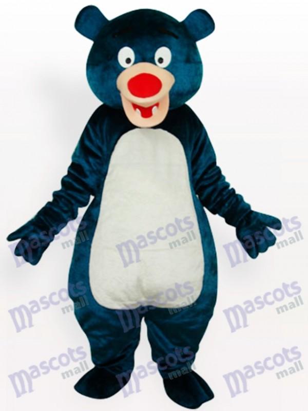 Blue Bear Adult Animal Mascot Costume