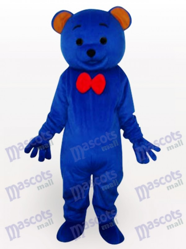 Blue Teddy Bear Animal Mascot Costume