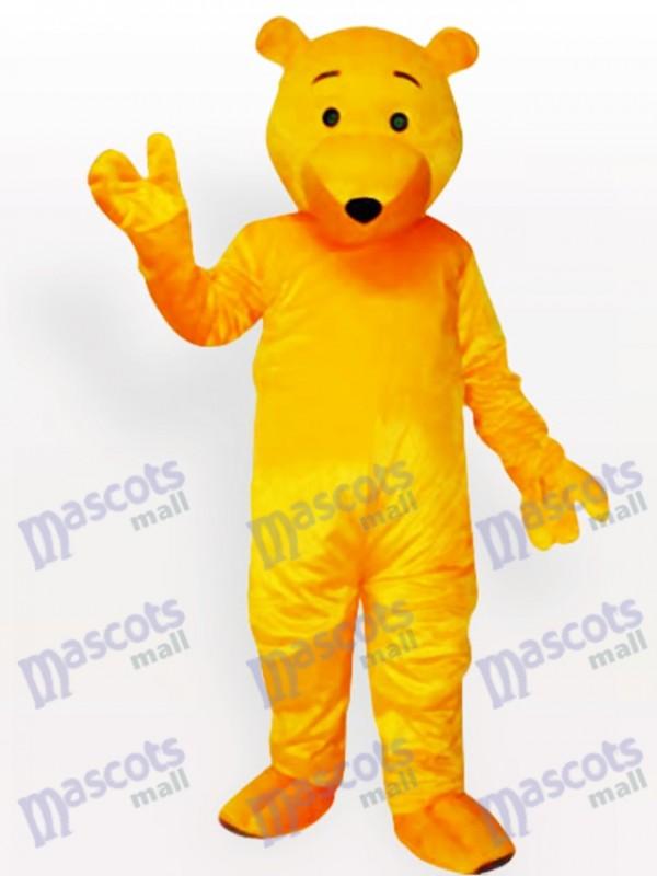 Cartoon Bear Animal Mascot Costume