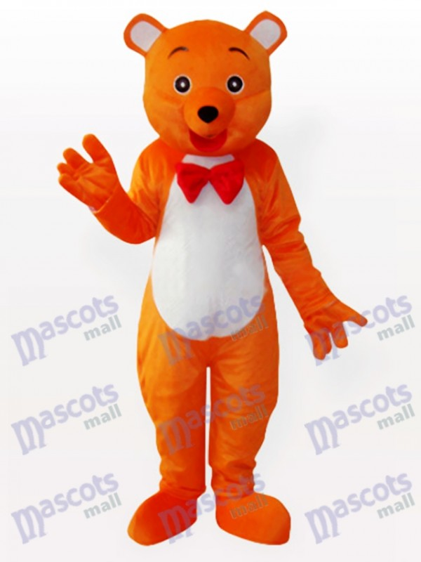 The Hey Orange Bear Animal Mascot Costume