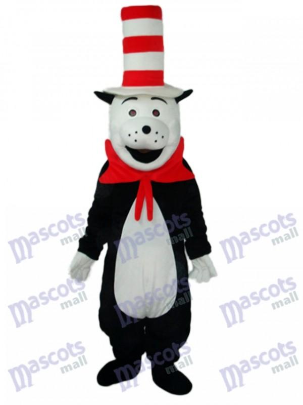 Bear with The Strange Cap Mascot Adult Costume