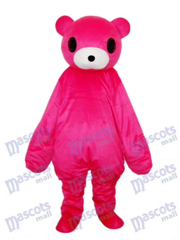 Red Bear Mascot Adult Costume