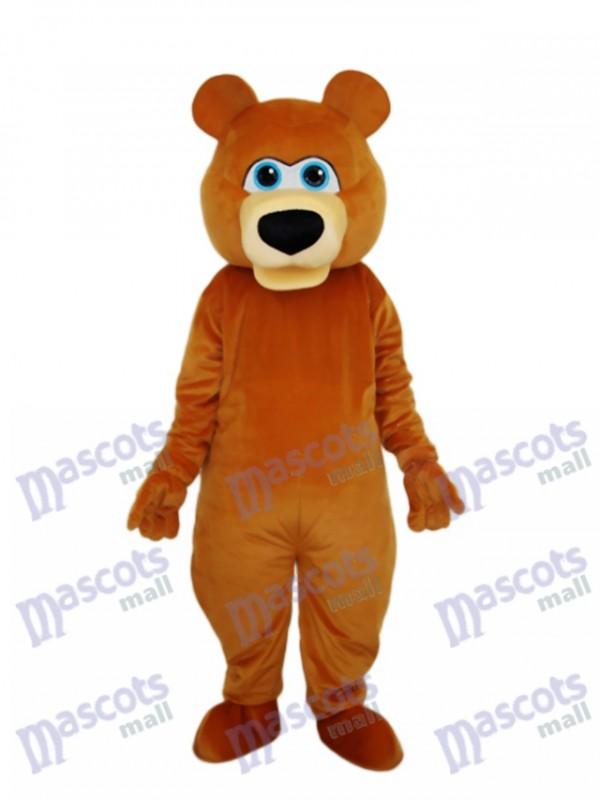 Strange Brown Bear Mascot Adult Costume