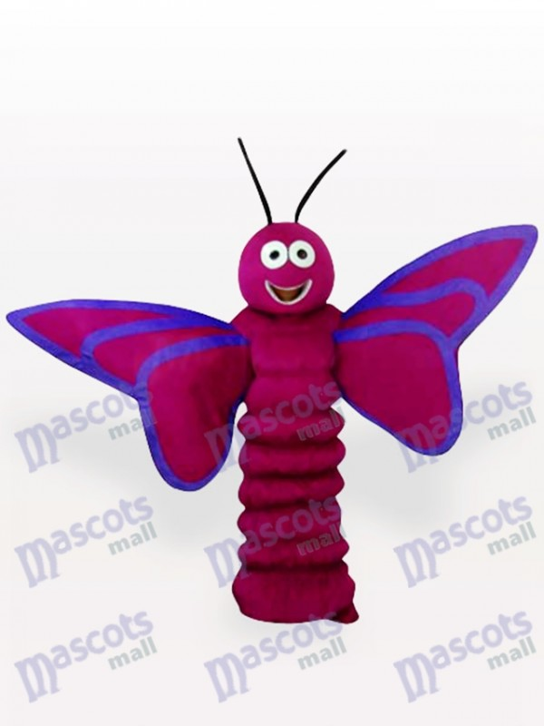 Purple Butterfly Insect Adult Mascot Costume